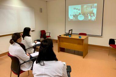 Serviço Social d´O Poverello troca experiências com unidade hospitalar do Brasil